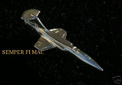 F-104 Starfighter Gold Hat Pin Made In Us Us Air Force Afb Lockheed Pilot Gift