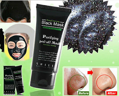 Face Blackhead Mask Remover Deep Cleansing Purifying Black Head Acne Treatments