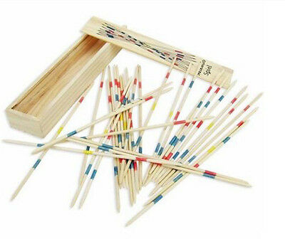 Traditional Mikado Pick Up Sticks Game, Mikado Spiel Wooden Pick up Party Favour