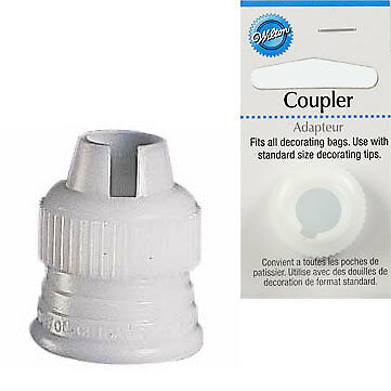 Wilton Standard Coupler For Cupcake Icing For Nozzle Tip 102 104 233 Carded