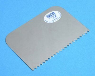 PME Stainless Steel Combed Patterned Edge Side Scraper Cake Decorating Icing