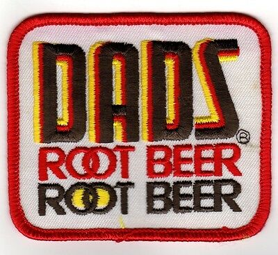 Mint unused DAD'S ROOTBEER Soda Pop Patch FREE SHIPPING