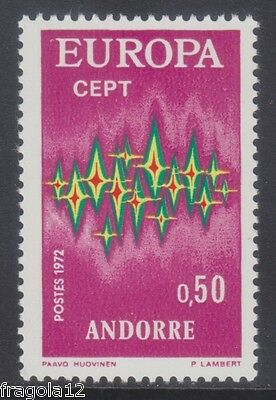 French Andorra 1972 - Europa - C. 50 - Mnh