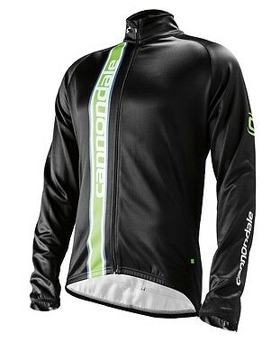 CANNONDALE Elite Winter CYCLING Long Sleeve Jersey in Black