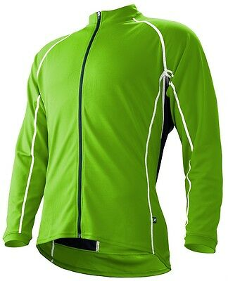 CANNONDALE Classic Mid-weight Winter CYCLING Long Sleeve Jersey- Berzerker Green