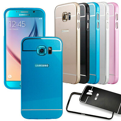 Luxury Slim Aluminum Metal Bumper Back Case Cover For Samsung Galaxy S 6 NEW