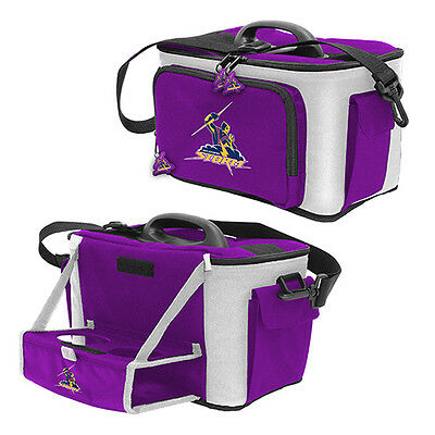 NRL Melbourne Storm DRINK COOLER ICE BOX BAG WITH DRINK TRAY Christmas Gift