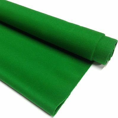 ENGLISH Hainsworth Pool Snooker Billiard Table Cloth Felt full kit 8ft GREEN