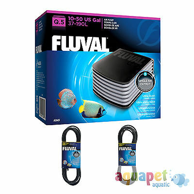 Fluval Q.5 Air Pump - Quiet, Powerful Aquarium Pump