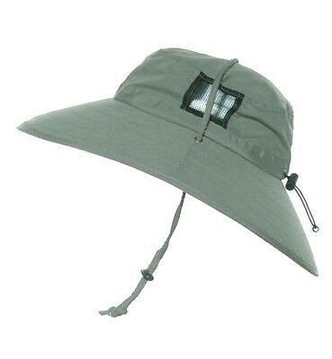 Sun Protection Zone Olive Green Unisex Lightweight Booney Hat, One Size, 50+ UPF