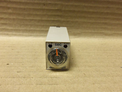 Omron Timer, H3Y-2-Timer, Seconds Timer, 100Vac, 5A