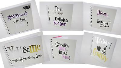 Really Good Bright Side Wedding Marriage Hen Night Scrap Book Guest Books