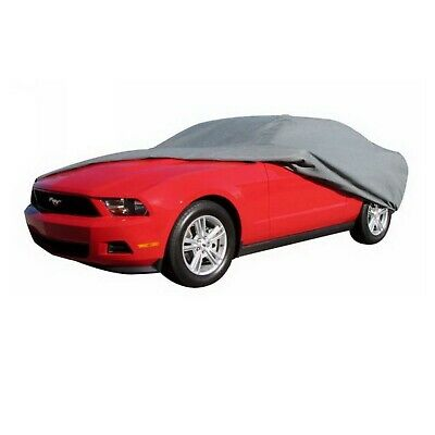 """Rampage 1303 EasyFit 4-Layer Car Cover w/Lock, Cable & Storage Bag 14' 1"""" to 15'"""