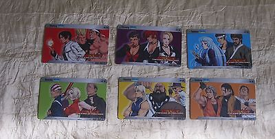 2004 Snk Neowave The King Of Fighters Id Cards Set 2