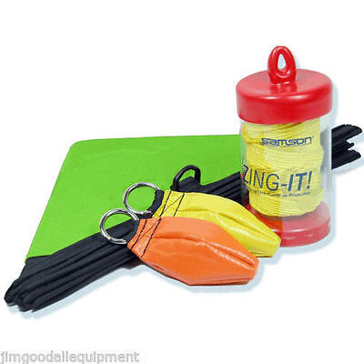 Throw Line Kit for Arborist,Deluxe,Cube,10oz&12oz Throw Bags,180'Zing it 2.2mm