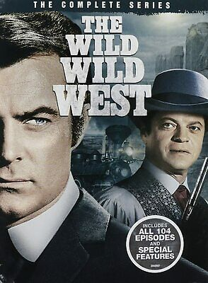 The Wild Wild West Complete TV Series Season 1-4 (1 2 3 & 4) NEW 26-DISC DVD SET