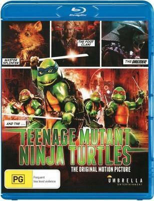 Teenage Mutant Ninja Turtles - The Movie Blu-ray Region B New!