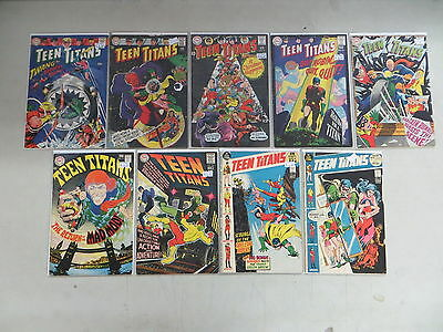 Teen Titans 9 Issue Silver Comic Run Lot 11 12 13 14 15 17 18 37 38 Dc