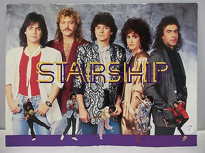 1986 Starship Tour Program Knee Deep in the Hoopla