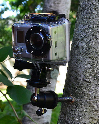 Tree Trail Hunting Swivel Mount for GoPro HERO HERO2 HERO3 HERO3+ HERO4 Camera