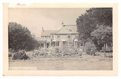 Unknown - Fircroft Guest House - old plain-backed postcard