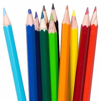 12 x Berol Verithin Art Colouring Pencils Pack Artists Drawing Sketching Colour