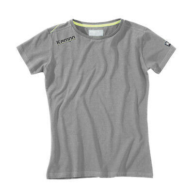 Kempa Core Baumwoll T-Shirt Damen Handball Top grau