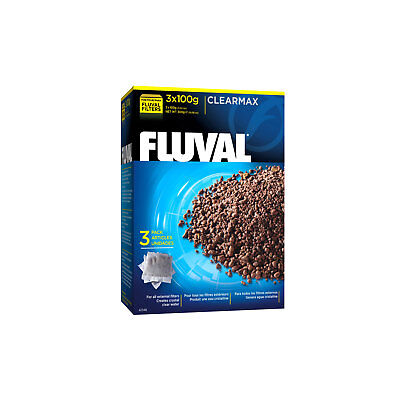 Fluval ClearMax Media Insert, 3x100g (3.52oz) External Filter 04/05/FX5/06 Media