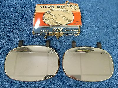 40's 50's FORD DODGE CHEVY VISOR MIRRORS   NOS  815