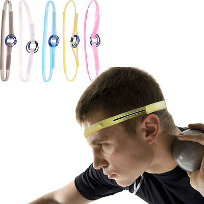 Outdoor Sports Silicone Sweatband Gym Yoga Burst Sweat Control Gutter Head Band