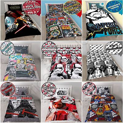 Star Wars Episode Vii The Force Awakens Duvet Quilt Covers Single & Double Sizes