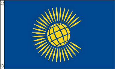 THE COMMONWEALTH of NATIONS FLAG 5' x 3' New Design British Empire Day