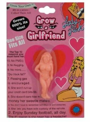 Grow Your Own Girlfriend A Joke Gift Secret Santa Stocking Filler Pink or Purple