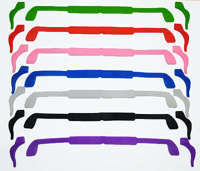 Wrapz Sunglasses or Glasses Silicone Strap & Retainer Set Keep Glasses in place
