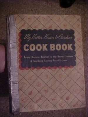 Vintage,  My Better Homes & Gardens Cook Book