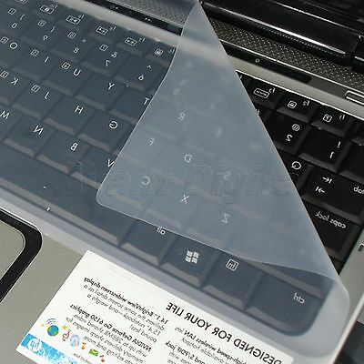 """Silicone Flexible Dustproof Laptop Keyboard Skin Cover Protector 17"""""""