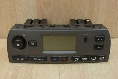 HEATER / AIR CONDITIONING LCD CONTROL PANEL GREY Jaguar X-Type 2003-2007