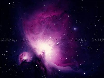 Space Nebula Star Orion Gas Cloud Nursery Cosmic Large Poster Art Print Bb3261A