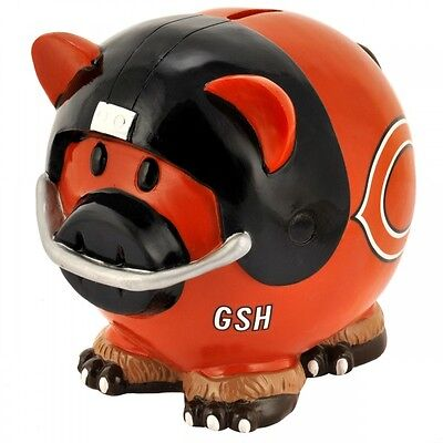 NFL Football CHICAGO BEARS Sparschwein Piggy Bank Thematic Spardose neu OVP