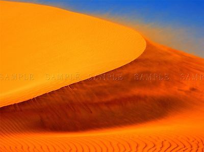 Wind Blowing Sand Storm Dune Desert Photo Art Print Poster Picture Bmp162A
