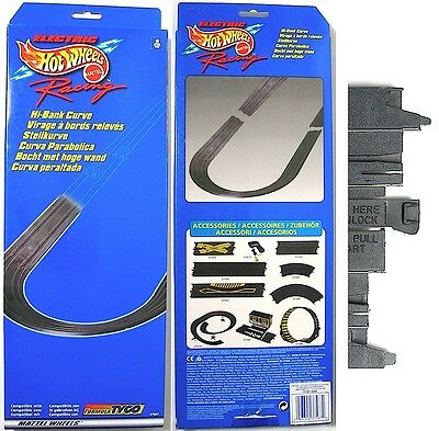 """1998 TYCO HO Slot Car Hi-Bank BANKED CURVE TRACK Add On +2 15"""" Straights! 37587"""
