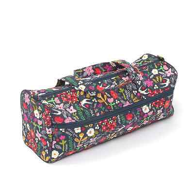Floral Swallows  Rectangle Classic Sewing Knitting Craft Bag