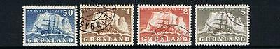 STAMPS GRONLAND 1950 SHIPS (fine used)  lot A29