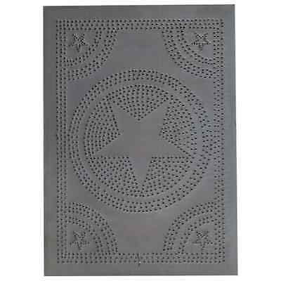 Regular STAR Tin Panel in Blackened Tin