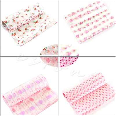 50 Sheet Wrapping Waxed Paper Waterproof Greaseproof For Candy Pastry Gift New