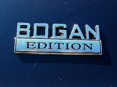 BOGAN EDITION CAR BADGE Chrome Metal Emblem *NEW & UNIQUE!* suit HOLDEN etc