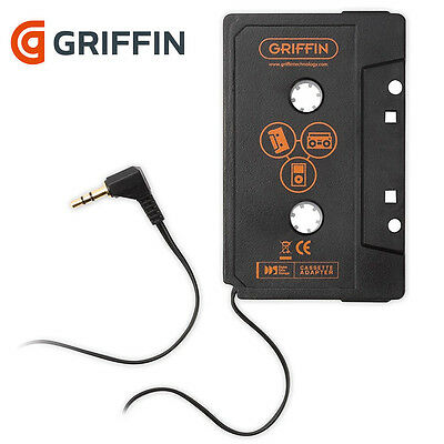 Car Stereo Audio AUX Tape Cassette Adaptor Universal/iPod/iPhone - Griffin
