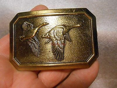 Vintage Bergamot 2nd Amendment Right to Bear Arms Belt Buckle 1984