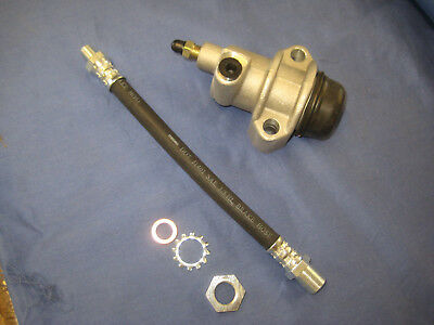 MG  MGB  1800 CLUTCH SLAVE CYLINDER AND HOSE  washers and nut  ***EBS4