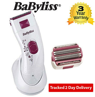 BaByliss 8667BU Wet and Dry Fully Washable Rechargeable Lady Shaver